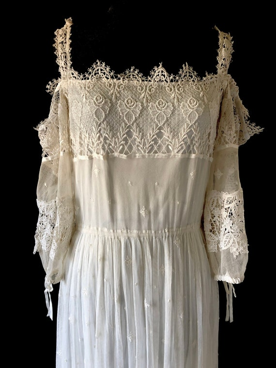 1970s Vintage Wedding Dress | Vintage Boho Wedding