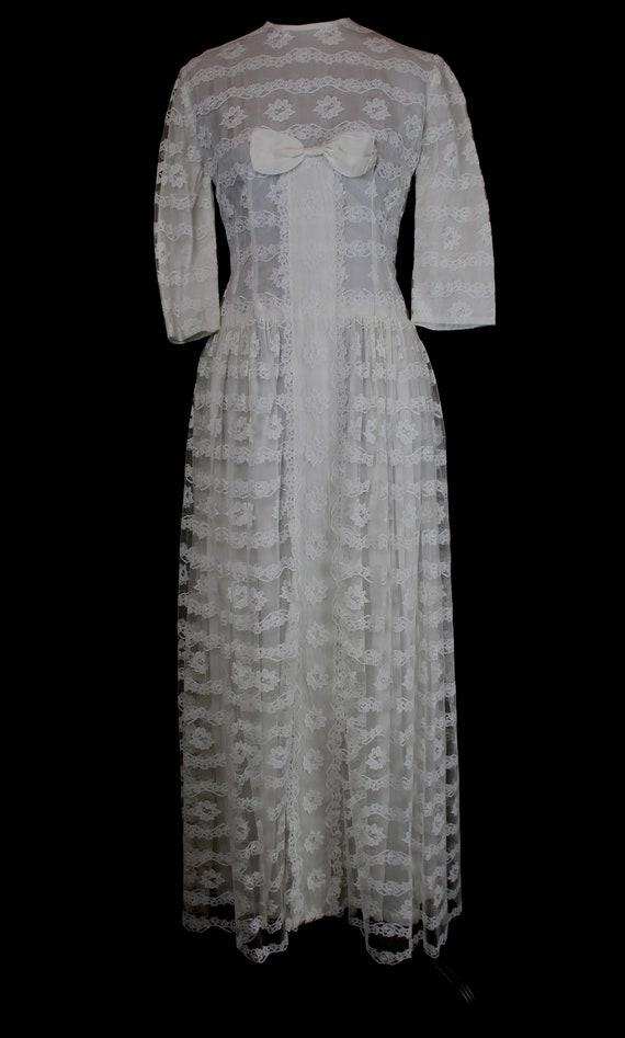Vintage Wedding Dress | 1960s Wedding Dress