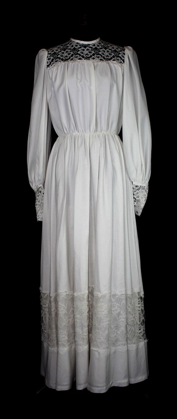 Vintage Wedding Dress | 1970s Boho Wedding Dress