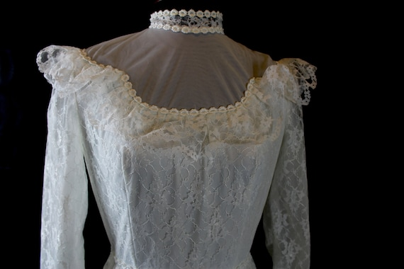 Vintage Wedding Dress | 1980s Vintage Wedding Dres