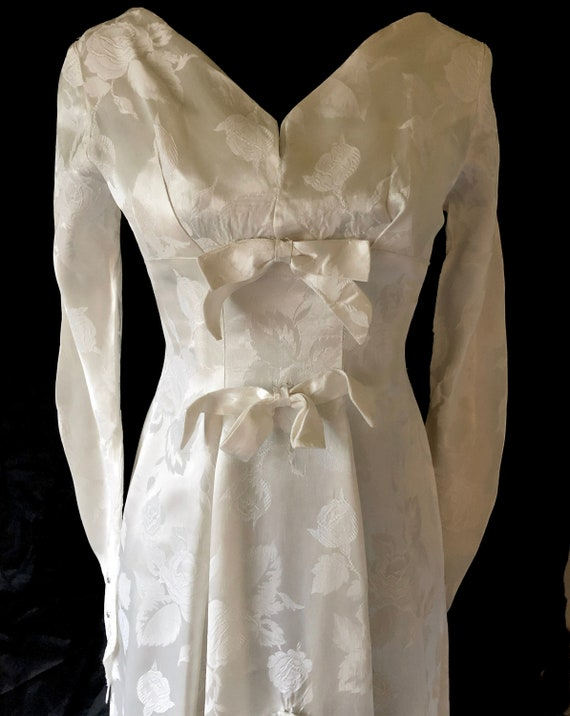 Vintage Wedding Dress | 1960s Wedding Dress | Ivor