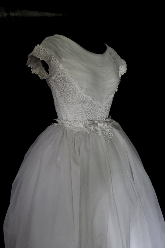 Vintage Wedding Dress | Muriel Martin Dress | 1960
