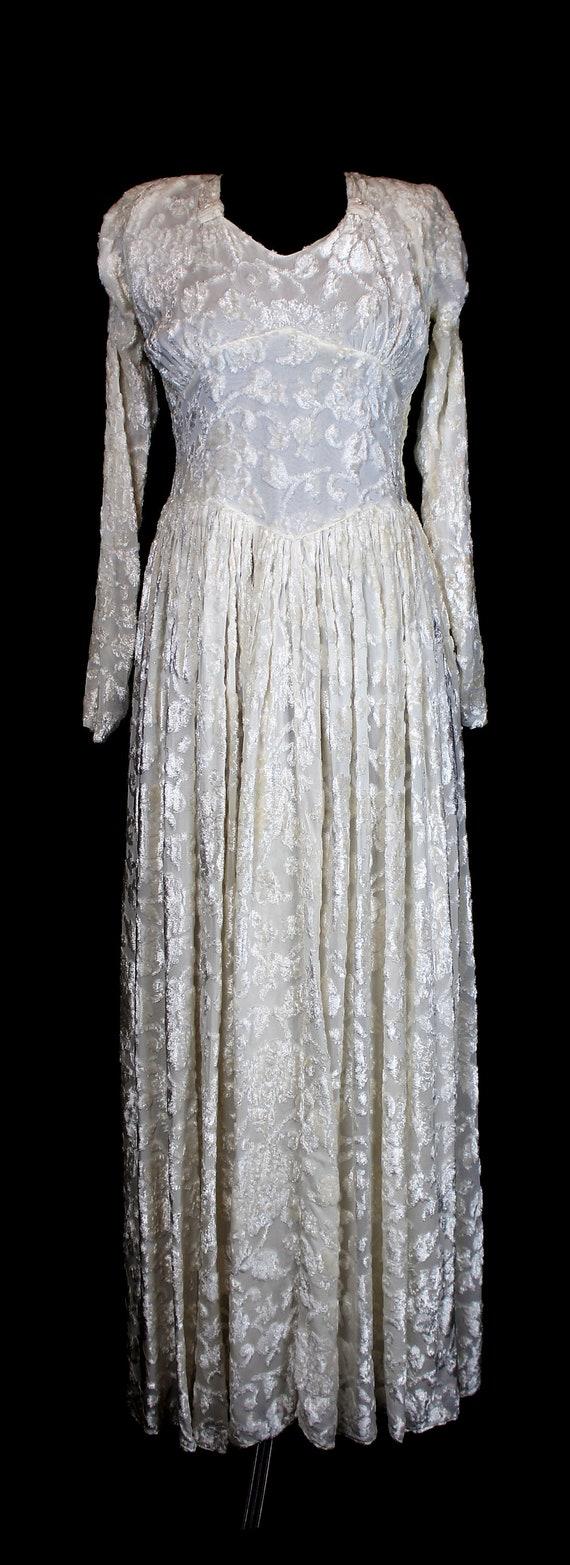 1940s Vintage Wedding Dress | 1940s Wedding Dress