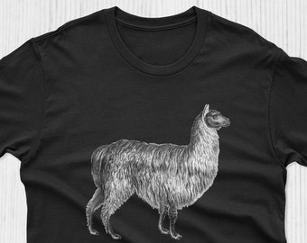 ADVENTURE ALPACA BAG T-Shirt Divertente Donna Alpaca LLAMA
