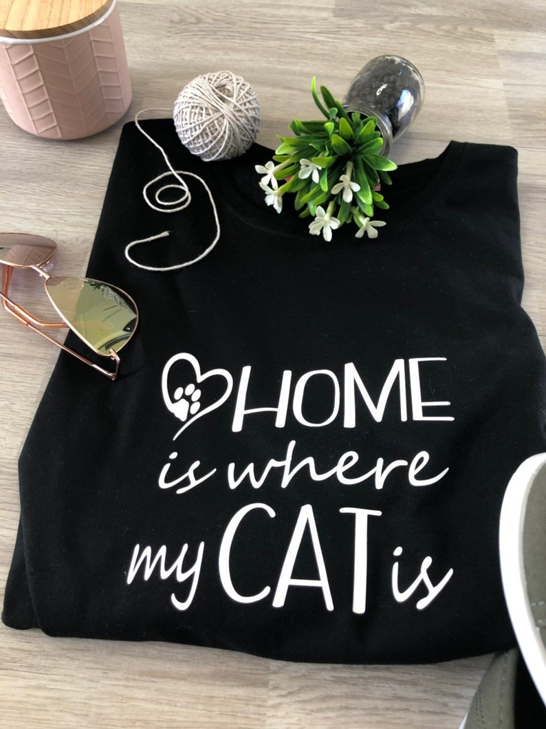 Miraculous Home Is Where My Cat Is Tee Tank Download Free Architecture Designs Rallybritishbridgeorg