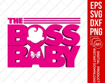 Boss Baby Svg The Boss Baby Svg African American Etsy