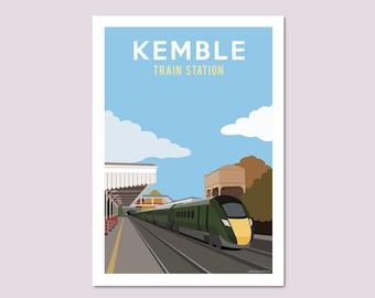 Vintage Bridlington Yorkshire/'s Gay Playground Railway Poster A4//A3//A2//A1 Print