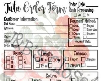 Tutu Order Set *SVG/PNG/JPEG*