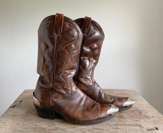 Bulls Head Cowboy Boots |  Vintage Cowboy Boots |