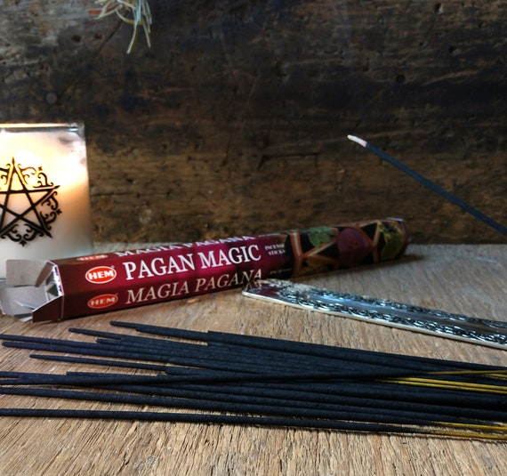 Hem Pagan Magic Incense, Witch's Incense, Mystical Incense, Pagan Magic Stick Incense, Hem Incense