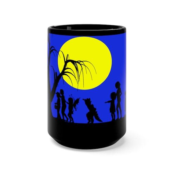 Halloween Mug, Trick-or-Treat Mug, Halloween Coffee Cup, Halloween Tea Cup