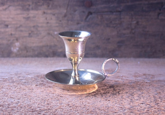 Brass Candle Holder, Mini Candle Holder, Small Brass Candle Holder