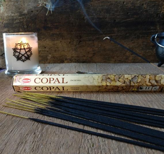 Hem Copal Incense, Witch's Incense, Mystical Incense, Copal Stick Incense, Hem Incense