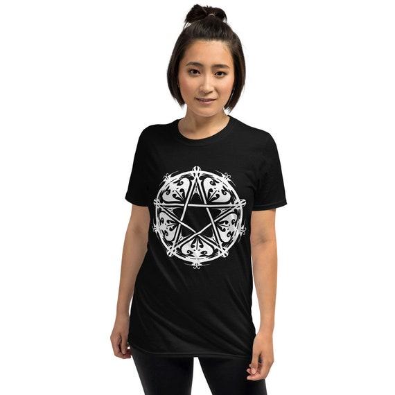 Pentagram T-Shirt, Original Pentagram Tee, Art T-Shirt, Witchy T-Shirt, Pagan Tee, Witches Tee