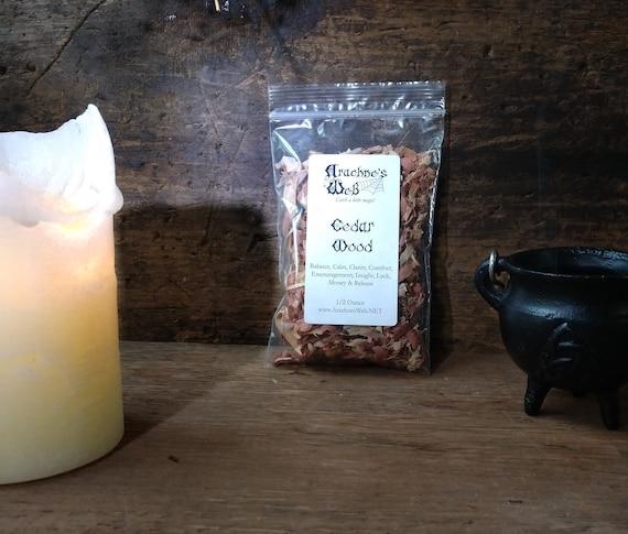 Cedar Wood, Witches Cedar Wood, Cedar Wood for Magic, Cedar Wood for Yule, Cedar for Spells, Witchy Herbs