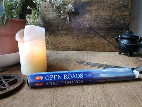 Hem Open Road Incense, Witch's Incense, Abre Camino Incense, Magick Ritual Incense, Stick Incense, Hem Incense