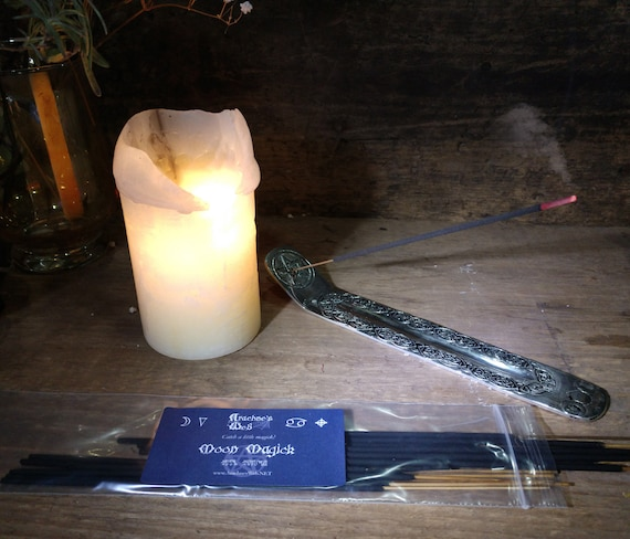 Moon Incense, Stick Incense, Witch's Incense Sticks, Pagan Incense, Wiccan Incense