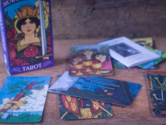 Morgan Greer Tarot Deck, Classic Tarot Deck, Fortune Telling Deck, Witch's Divination Deck