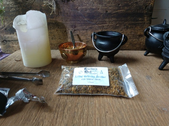Litha Offering Herbs, Litha Incense, Handcrafted Litha Offering, Herb and Essential Oil Incense