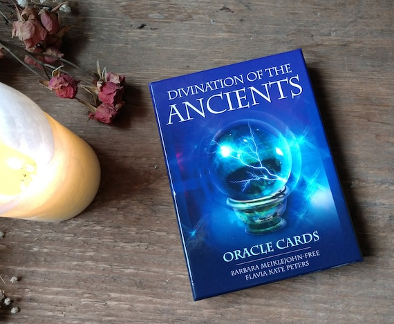 Divination of the Ancients Oracle Deck, Oracle for Witches, Witchy Oracle Deck, Fortune Telling, Witchy Stocking Stuffer
