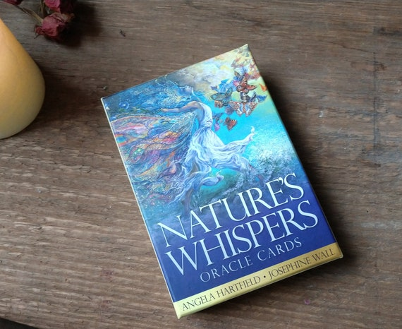 Nature's Whispers Oracle Deck, Josephine Wall Deck, Hartfield and Wall Oracle, Witchy Stocking Stuffer