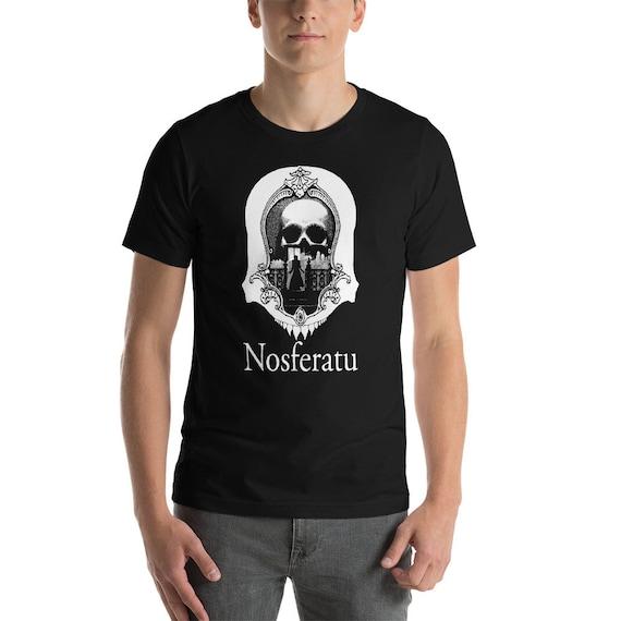 Nosferatu T-Shirt, Original Art Vampire Tee, Vampire Shirt, Gothic Tee, Spooky Tee, Creepy Tee