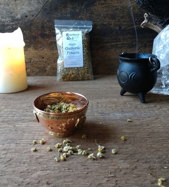 Organic Chamomile, Chamomile for Magic, Witch's Chamomile, Chamomile for Spells, Chamomile for Tea, Chamomile for Calm