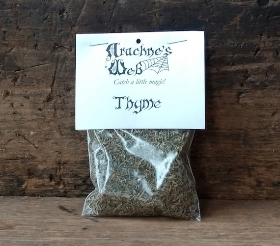 Thyme for Cooking, Protective Thyme, Witch's Thyme, Thyme for Offering Bowls, Thyme for Magic, Thyme for Witchcraft
