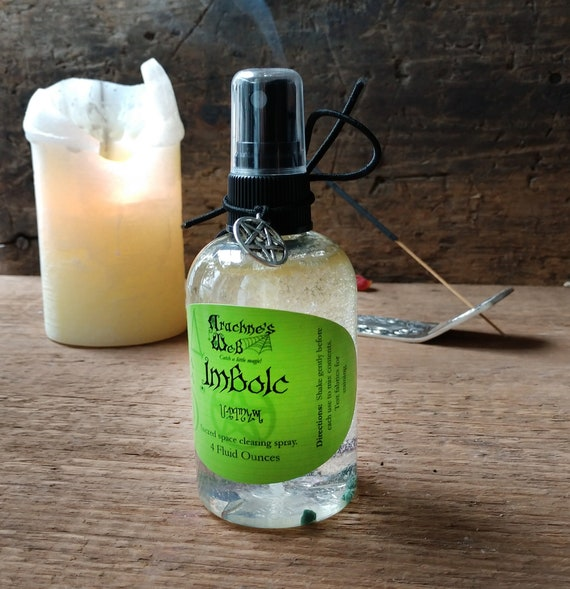 Imbolc Spray, Sabbat Clearing Spray, Witches Sabbat Spray, Imbolc Clearing, Essential Oil Spray