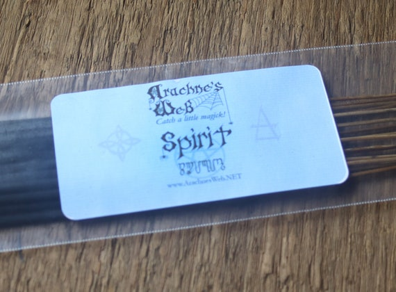 Spirit Incense, Stick Incense, Witch's Incense Sticks, Pagan Incense, Wiccan Incense, Spiritual Incense