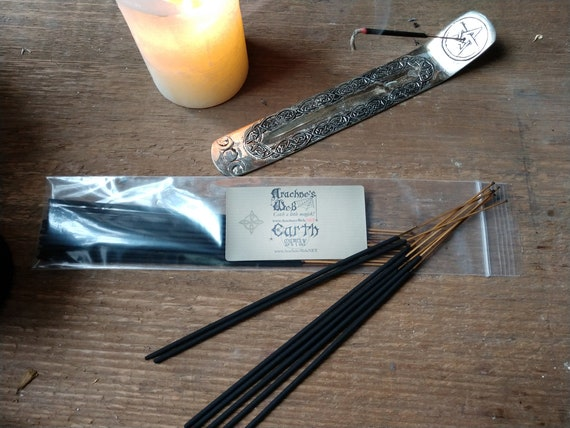 Earth Elemental Incense, Stick Incense, Witch's Incense Sticks, Pagan Incense, Wiccan Incense, Elemental Stick Incense