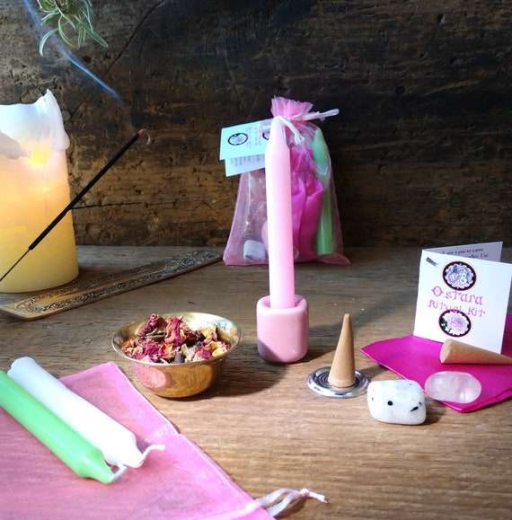 Ostara Ritual Kit, Sabbat Ritual Kit, Witches Ostara Ritual, Magic Ostara Celebration, Witch's Spring Equinox Ritual