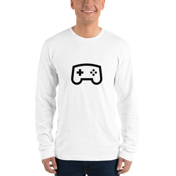 Long sleeve t-shirt: Heaven Bound Gamer