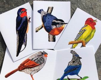 Ink Tango Bird Note Cards