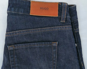 526332ee0 HUGO BOSS Women's Stretch Jeans blue Straight Fit Size 25 / 34
