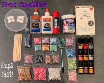 6f72a5a91 Slime kit, slime shops, free slime, free squishy, cloud slime, metallic  slime, slime, slime box, slime charms