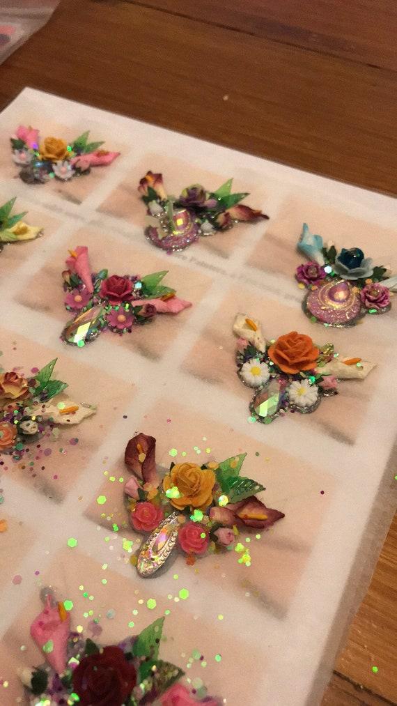 Flower Fairy Face Painting Bling Etsy