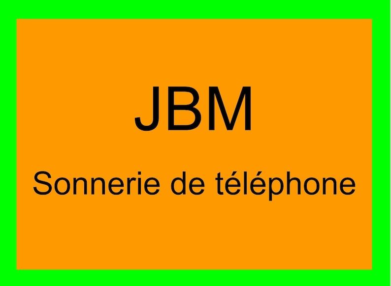 JBM phone ringing image 0