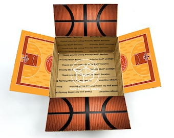 Basketball care package flaps / gift for boyfriend /  basketbaall team gift / fathers day / college care pakage / camp care package stickers