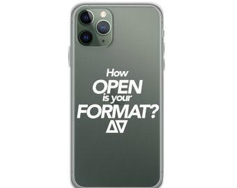 Open Format iPhone Case