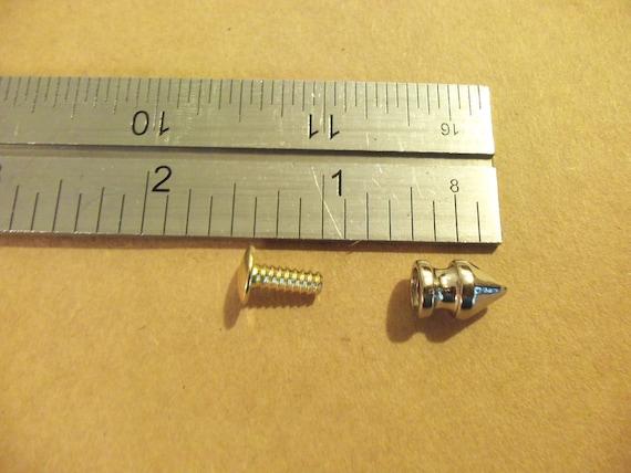 "Pyramid Spots 1//2/"" Nickel Plated 100//Pk"