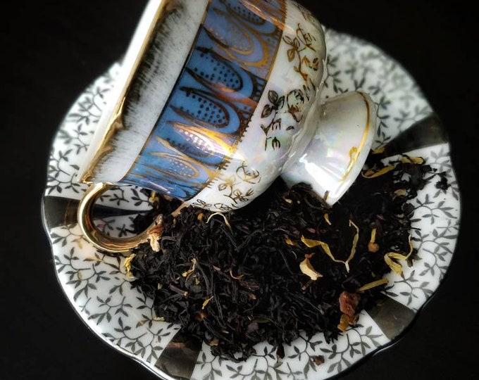 Gourmet Organic Loose Leaf Tea, Black Tea, Green Tea, White Tea, Tea Sample Set, Gift for Tea Lover,Teas of the World,Jasmine Pearls,Rooibos