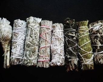 JUNIPER Smudge WandSmoke Cleansing Ritual House Smudging Cleanse Sticks Natural Incense Smudging Dried Herb Bundle Altar Tools Offerings