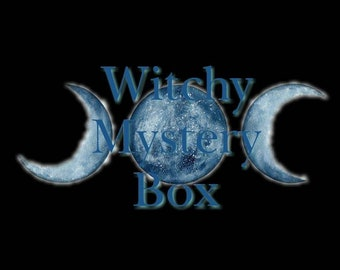 Witchy Magick Mystery Spell Kit Sampler Starter Kit Incense Wicca Ritual Pagan Smudge Medicinal Chakra Reiki Astral Travel Lucid Dream Altar