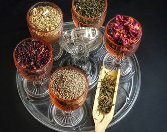Prosperity Spell Herb Sampler Apothecary Starter Kit Herbalism Incense Wicca Ritual Pagan Smudge Medicinal Chakra Reiki Candle Soap Resin