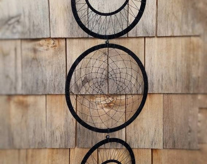 Large Moon Phases Lunar Woven Hanging Wall Art, Wiccan Moon Alter Home Decor, Ritual Magic Tool Witch Altar Hanging, Boho Wall Decor