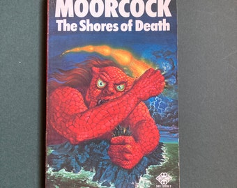 Michael Moorcock - The Shores of Death Vintage Sci-fi Paperback 1975