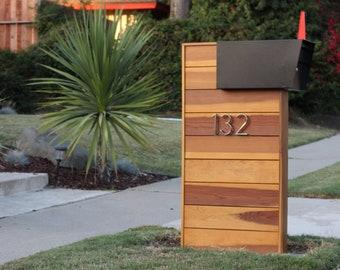 Modern mailbox   Etsy