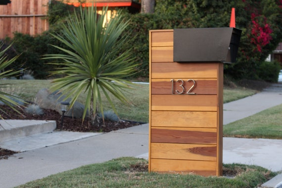 Mid Century Modern Mailbox Instructions