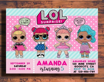 Handmade Lol Surprise Dolls Etsy
